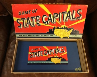 1952 Game of State Capitals