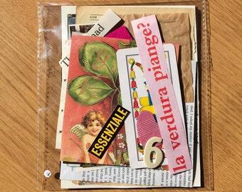 "Ephemera Kit ""Essenziale"" ( 40 pcs )"