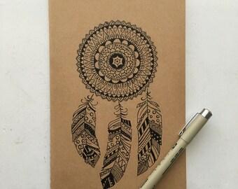 Mandala Moleskine A5 Lined Notebook