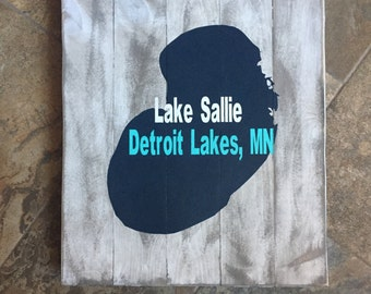 Customized Lake Sign, Cabin Decor, Cabin Sign, Lake Sign, Lake Theme Gift, Cabin Theme Gift, Cabin Gift