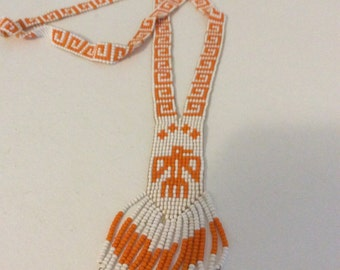 Native Art Beaded Necklace
