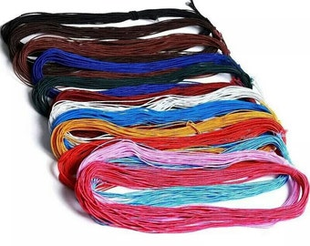 1mm elastic stretch cord for jewelry beading bracelets 25m/lot 8 unique colours available free worldwide shipping