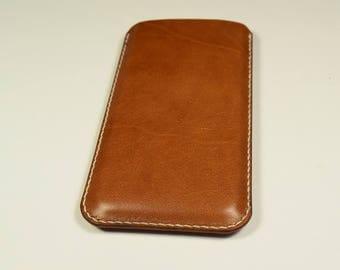 iPhone 7 Kangaroo Leather Sleeve/Case/Cover, Personalized, Slim, iPhone leather Cover, iPhone Leather Case, iPhone Leather Sleeve