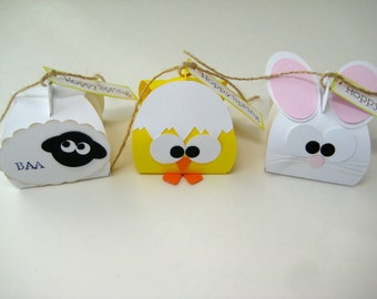 Easter Treat Boxes-3 characters