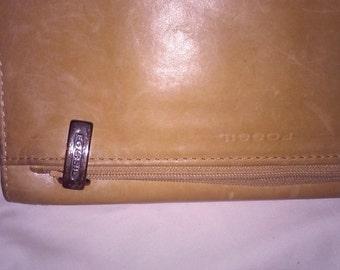 F  fossil wallet tan, Sho Garment, Fossil - Collection