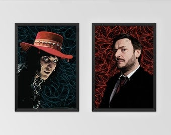 The MIghty Boosh Noel and Julian Poster Set