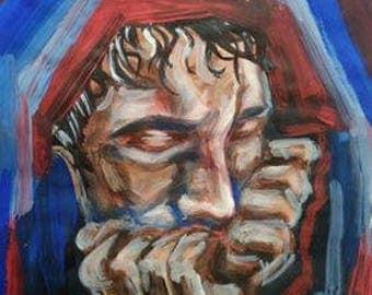 Acrylic painting (Dan Smith,BASTILLE)