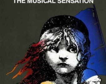 Les Miserables (Broadway), Movie poster 11x17 Style A