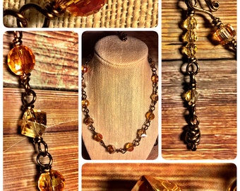 Honig: Handmade Crystal Necklace