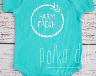 Farm Fresh Onesie