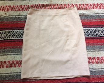 90's A-List Pale Pink Mini Skirt