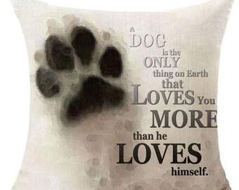 Love Dog Pillow
