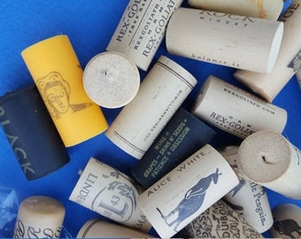 Wine Cork Art Etsy
