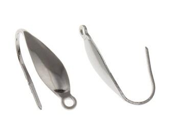 2/4/6pairs Stainless steel hook earwire
