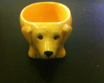 VINTAGE EGG CUP  Of  A Dog or a Bear