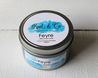 Feyre - ACOTAR/ACOMAF Inspired Soy Candle