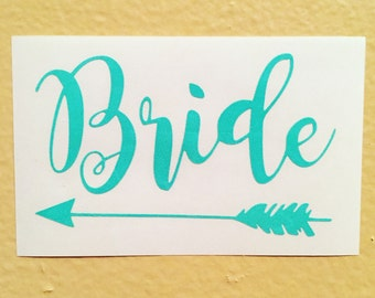 Bride Decal   Future Bride   Yeti Cup Decal   Bridal Gift   Future Mrs   Engagement Gift   Engaged   Car Decal   Cup Decal   Bride Squad  