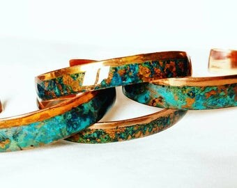 Khrys Cassiopeia Copper Cuff Bracelet Bangle