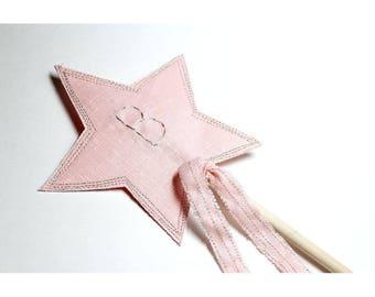 Wand Princess Wand Fairy Wand Pink Wand Birthday Party Favors Personalized Girls Wand Stella Wand