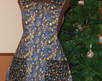 Apron--Adult Ladies' Steampunk