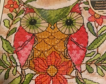 Dimensions Whimsical Owl in Needlepoint kit