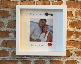 You're the key to my heart - Photo Frame