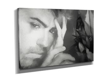 George Michael You have been loved Music Canvas Wall Art