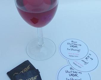 Save my drink coaster, im dancing coaster, drinks coaster, weddings, christenings, parties