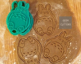 Totoro Cookie Cutter - *Dishwasher safe option*