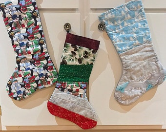 Quilted stocking