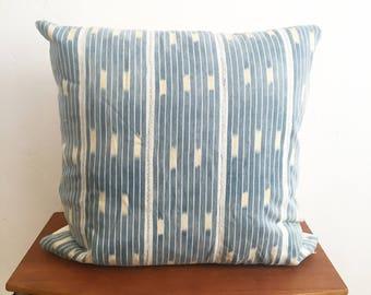 Ligt Blue Baule Pillow