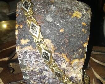 Vintage Damascene style Bracelet