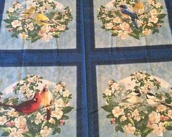 Songbird Fabric / 2 panels