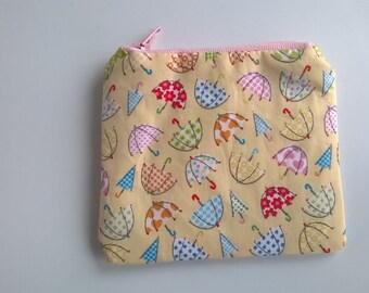 Umbrellas coin purse
