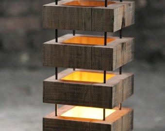 Led Wood Lamp
