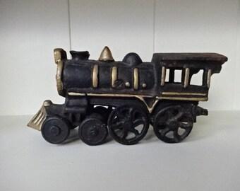Vintage Cast Iron Train