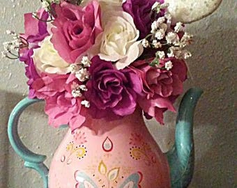 Teapot Flower Arrangment