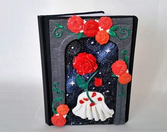 Enchanted Rose Journal- Inspired by Beauty and the Beast