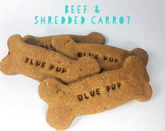 Beef & Shredded Carrot Gourmet Dog Treat Bones
