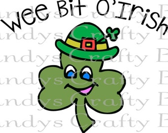 SVG Wee Bit O'Irish