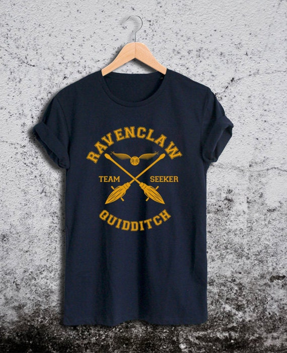 Ravenclaw Quidditch Shirt Harry Potter Unisex Tshirt by Ridaar