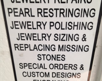 All kinds of repairs are welcome