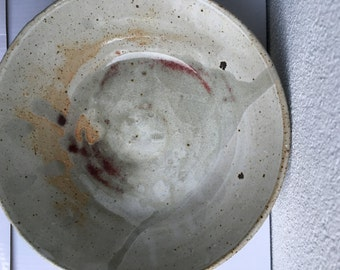 Exposed Stone, Hint of Magenta Bowl