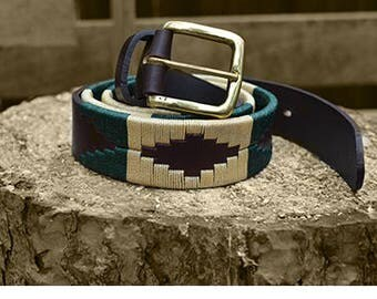 Leather Belt - Palm Desert
