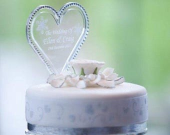 Acrylic Cake Topper *Personalised*