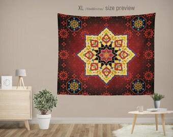 Unique Mandala Bedspread Related Items Etsy