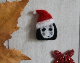 "Brooch ""faceless"" Christmas (""Noface"" Christmas brooch)"