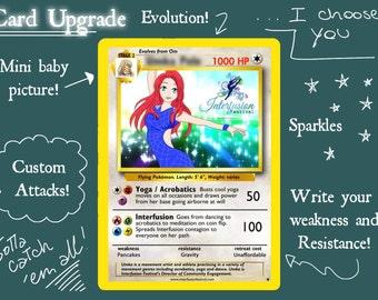 People as pokemon cards!