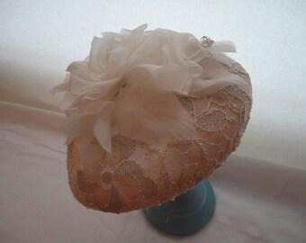 Unique bridal headpeice