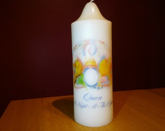 Queen 'A Night At The Opera' Crest Church Candle